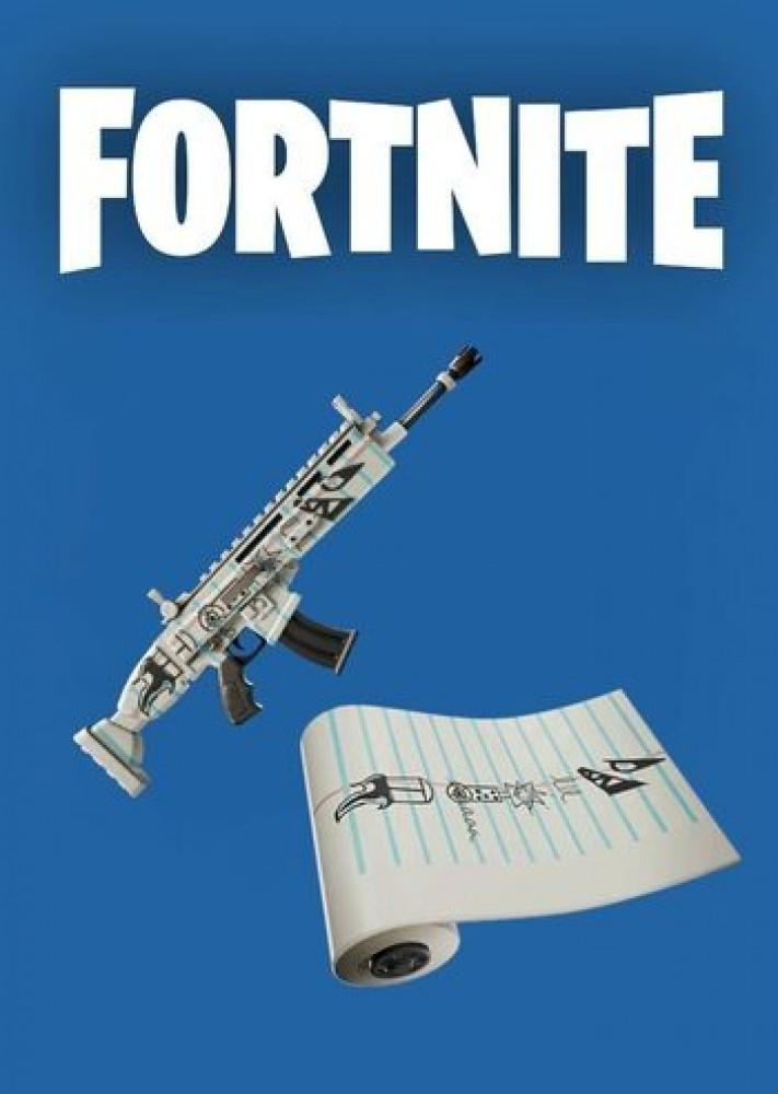 فورت نايت حزمة Fortnite Doodler Wrap