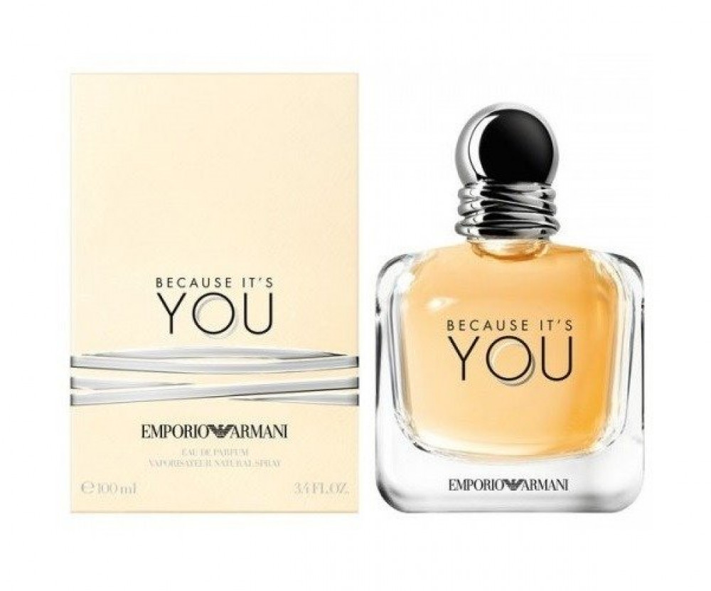 Emporio Armani Because Its You for Women Eau de Parfum 100ml