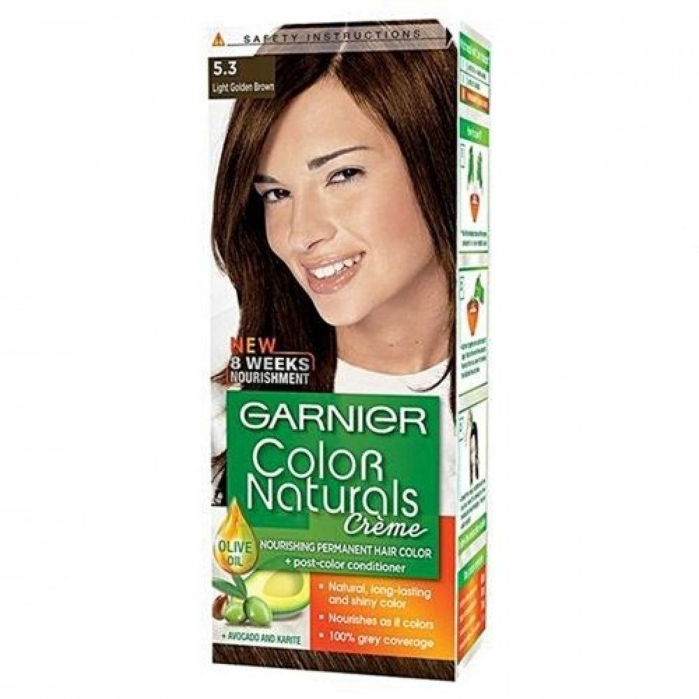 Garnier Color Naturals No-5-3 Light Golden Brown متجر خبير العطور