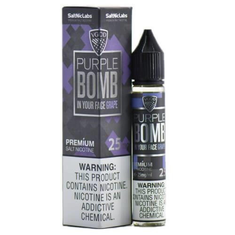 نكهة فيقود بيربل بومب جريب عنب سولت نيكوتين - VGOD PURPLE BOMB GRAPE -