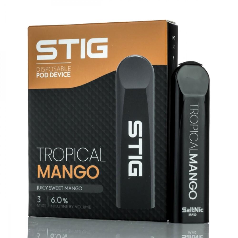 سحبة سيجارة ستيج تروبيكال مانجو STIG Trepical Mango SaltNic