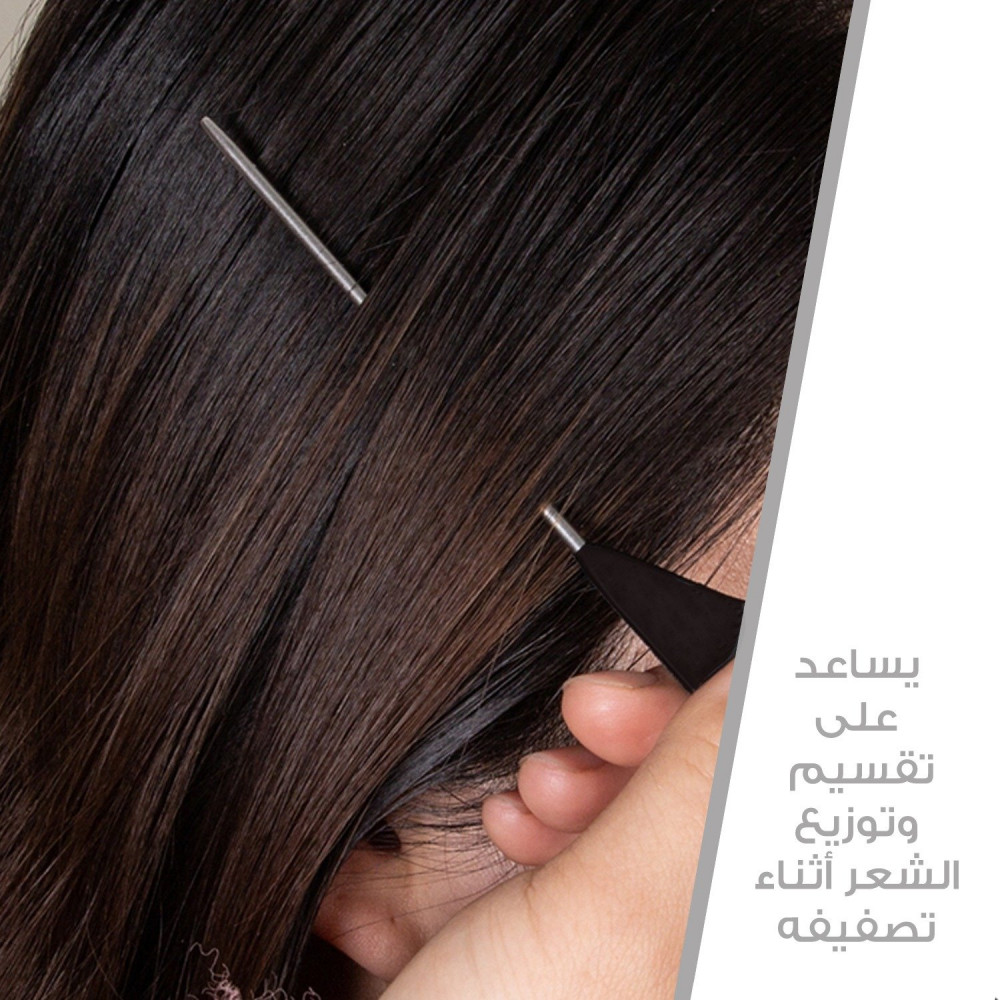 مشط استشوار مشط شعر فرشاة شعر المشط الحراري أفضل مشط للشعر