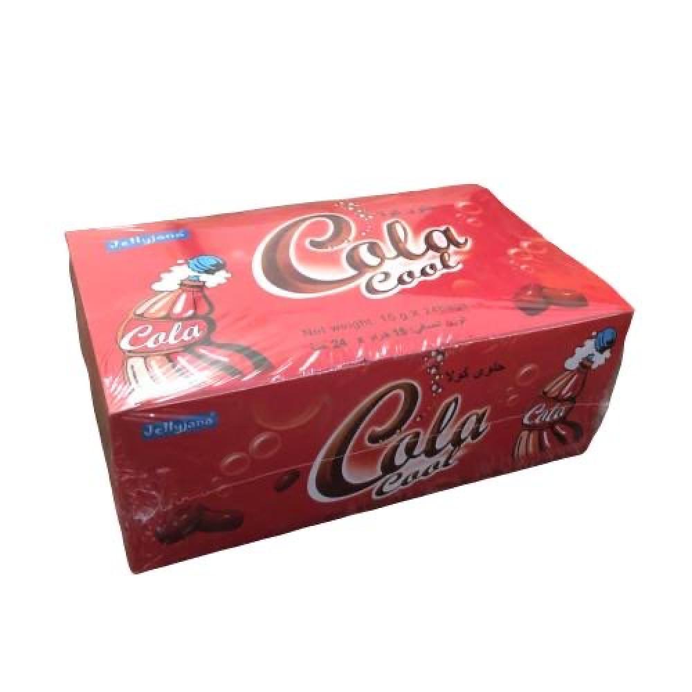 بورقات حلاوة جلي كولا اكياس صندوق 24 حبة تسوق اونلاين الحلويات بافضل سعر في مصر سوق كوم