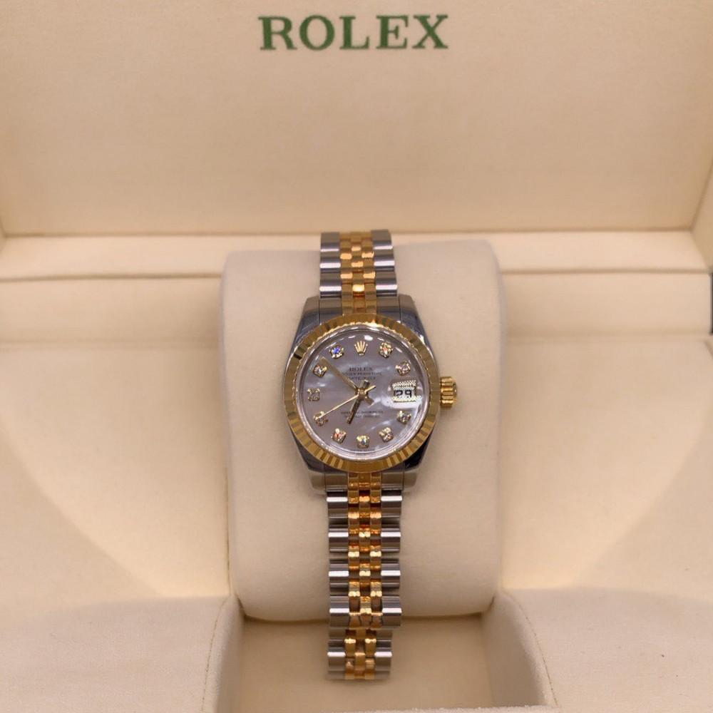 ساعة Rolex ديت جست الأصلية مستخدمة