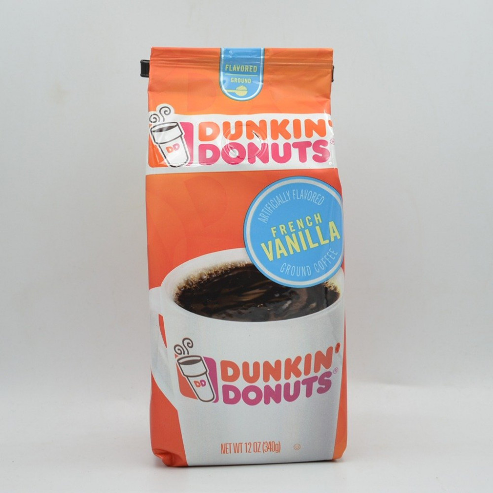 دانكن دونت فرينش فانيلا مطحون 340 جرام قهوتكم