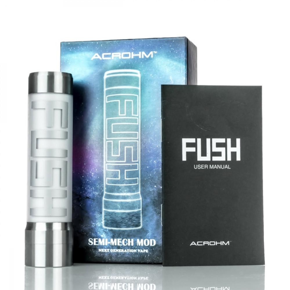 شيشة ميكانيكة فوش Acrohm Fush Semi-Mech LED Mod