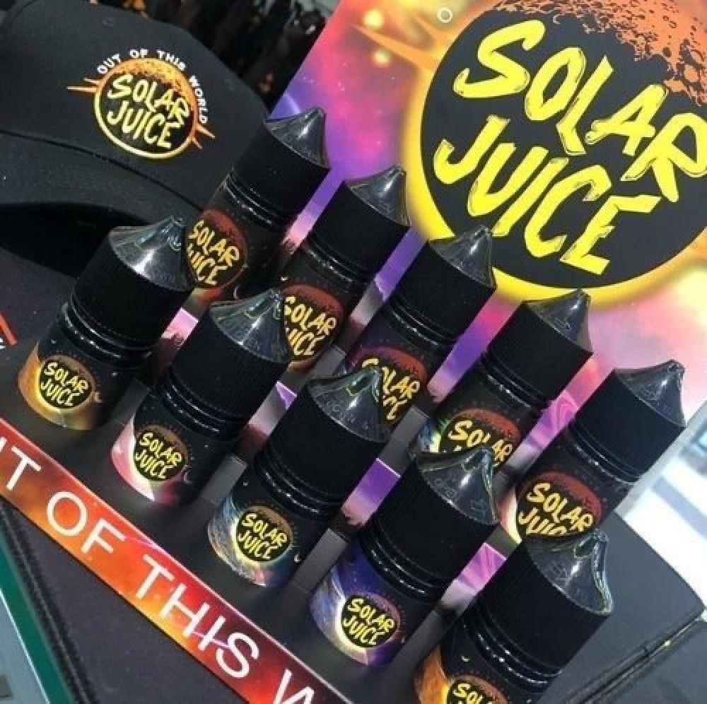 نكهة سولار جوس فواكة استوائية بدون ايس - سولت - SOLAR JUICE TROPICAL F