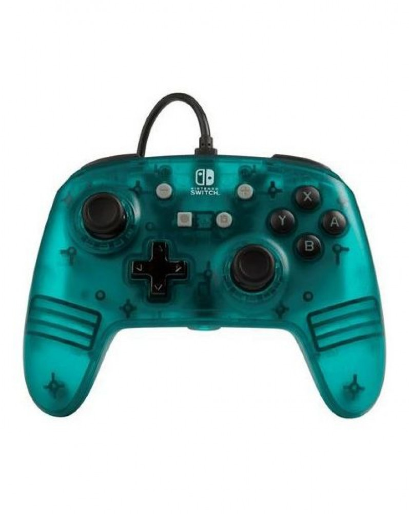 Enhanced Wired Controller For Nintendo Switch - Teal Frost