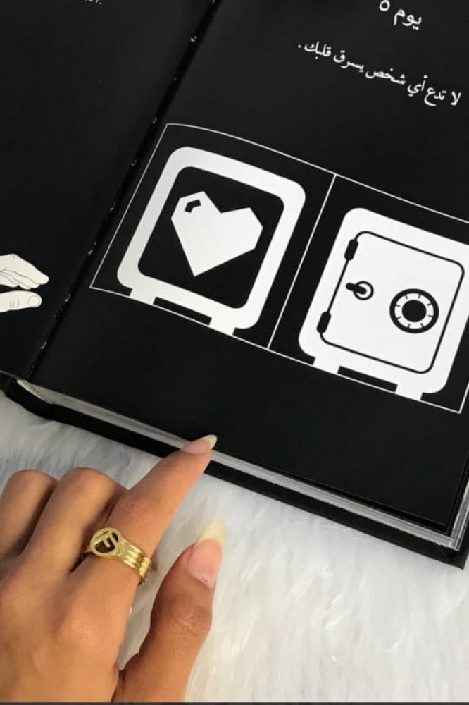 خاتم ماركة فندي الجديد