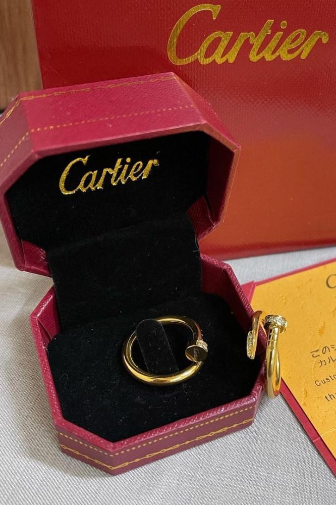 خاتم المسمار ماركة Cartier