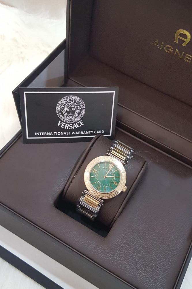 ساعة فرزاتشي الخضراء الجديده