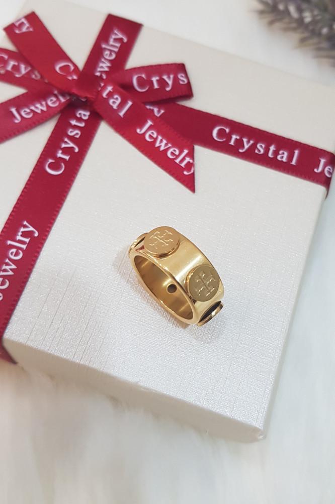 خاتم توري بورش الذهبي نسائي
