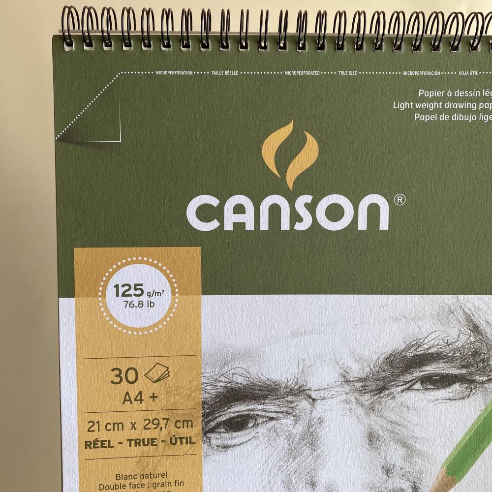Canson C a grain A4 - Spiral