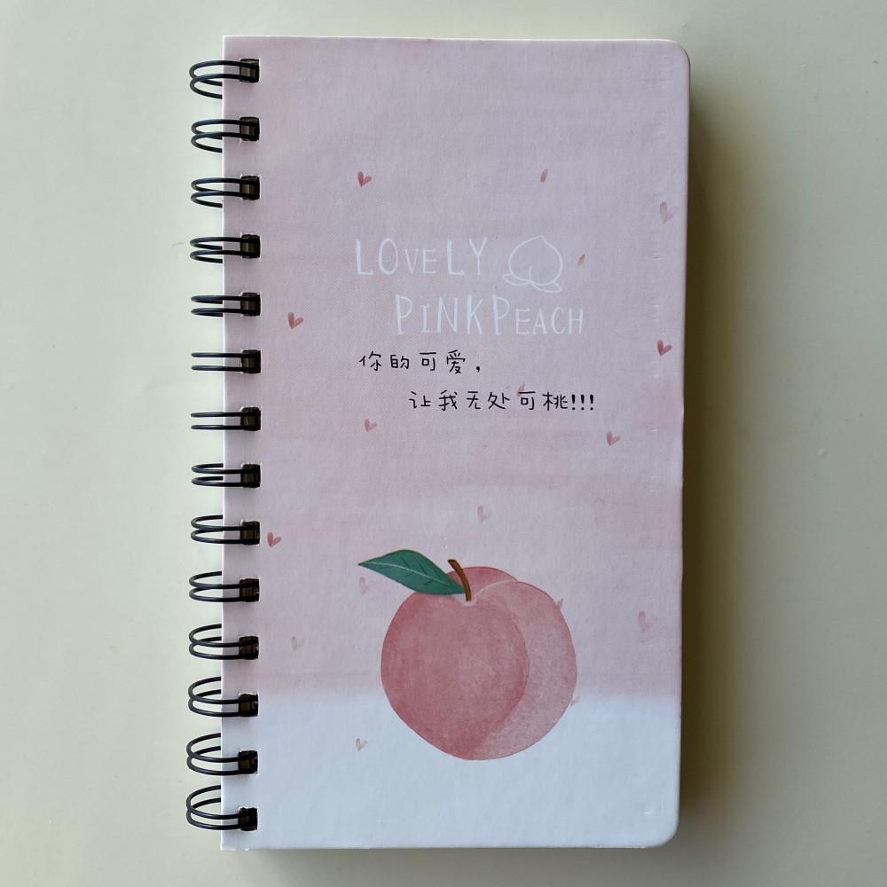 دفتر الخوخ الوردي 80ورقة