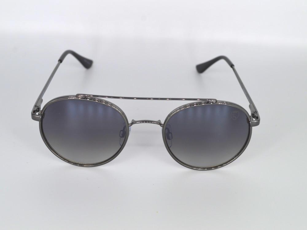 نظاره شمسيه رجالية من ماركة troy لون العدسة اسود مدرج