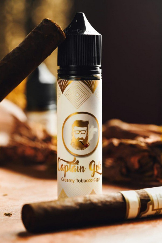 نكهة كابتن قولد Captain gold Creamy Tobacco Cigar