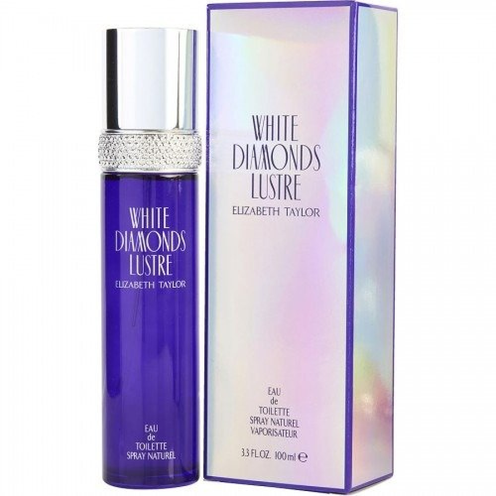 Elizabeth Taylor White Diamonds Lustre Eau de Toilette 100ml خبير العط