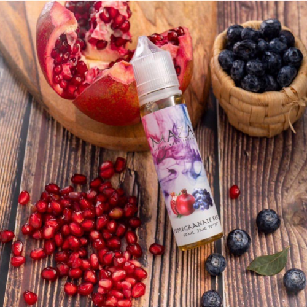 مزاج توت رمان - MAZAJ Pomegranate Berry - 60ML - شيشة سيجارة نكهات VAP