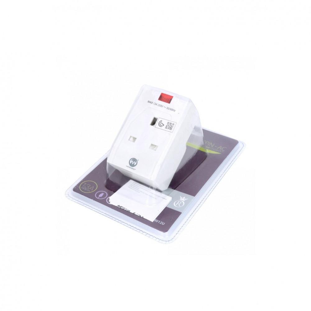 فيش كهربائي مع مدخلين USB من متجر أدوات للأجهزة الكهربائية المنزلية