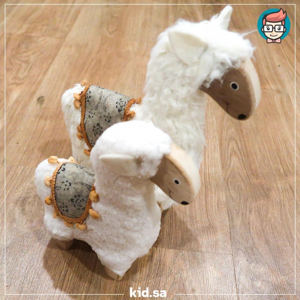خروف العيد خشبي