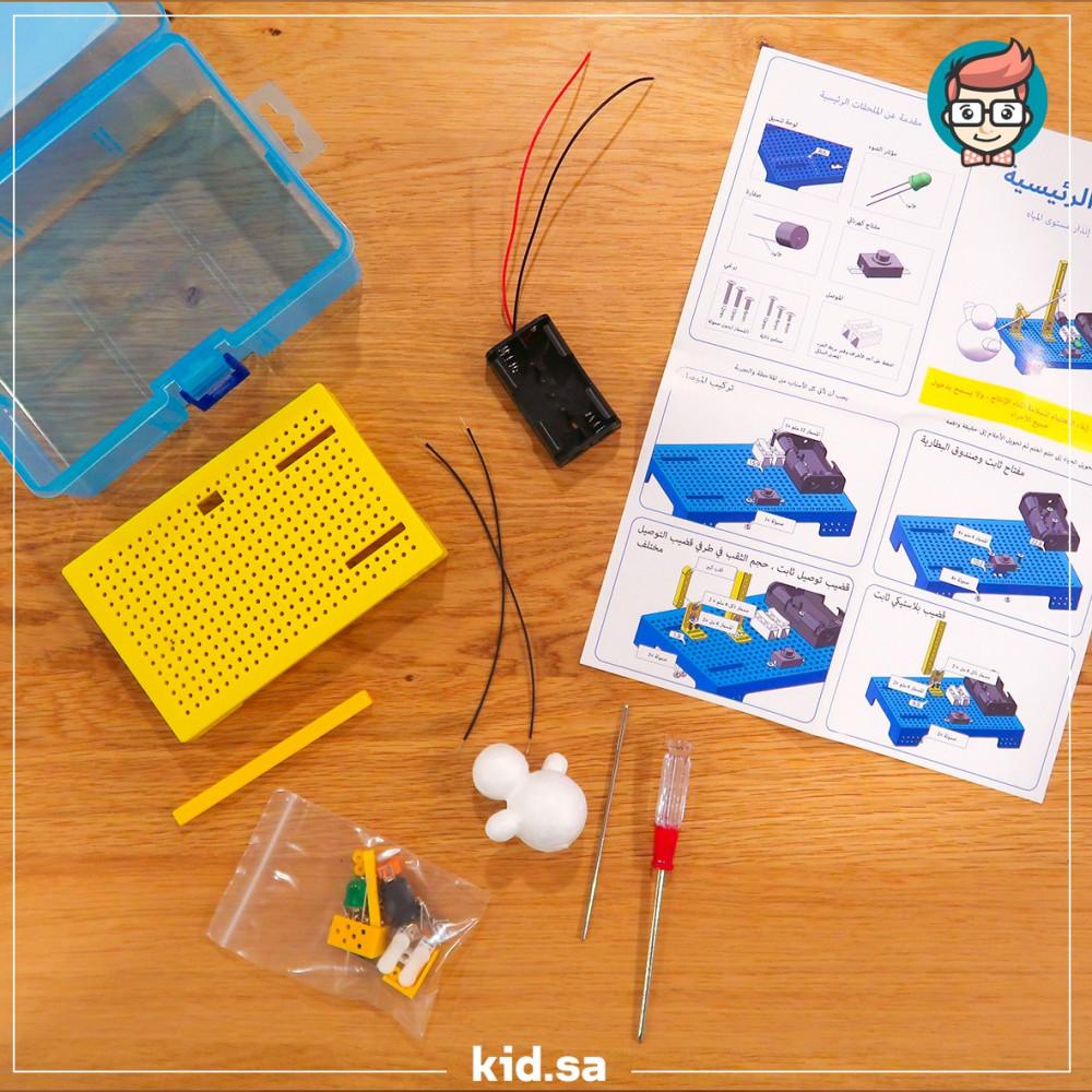 دوائر الكترونية بسيطة للاطفال