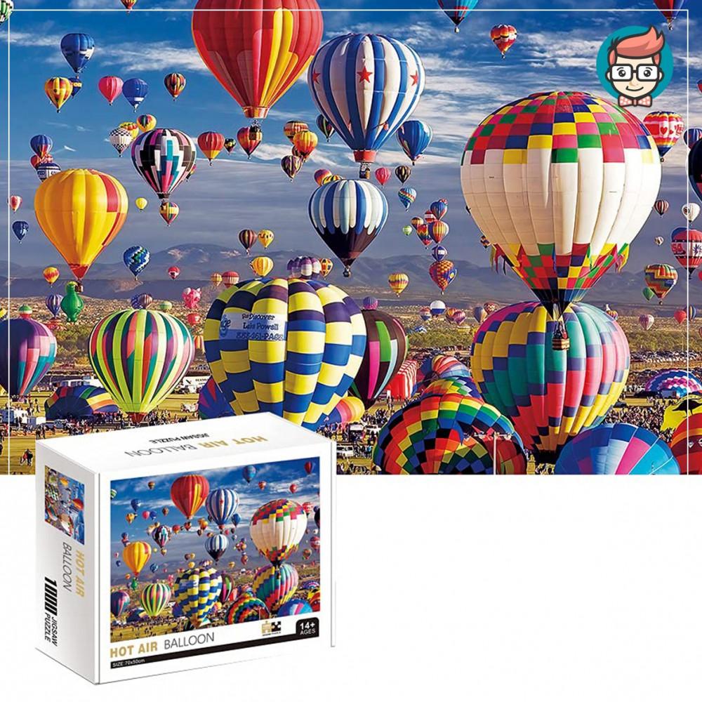بزل 1000قطعة hot air balloon