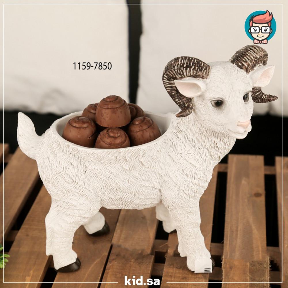 تحفة تقديم شكل خروف عيد الاضحى ابو قرون