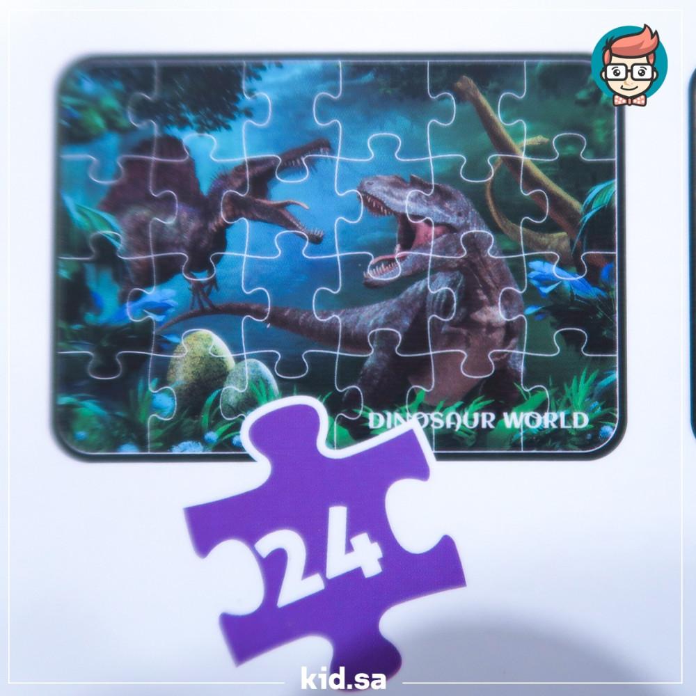 لعبة بزل دينصورات للاولاد
