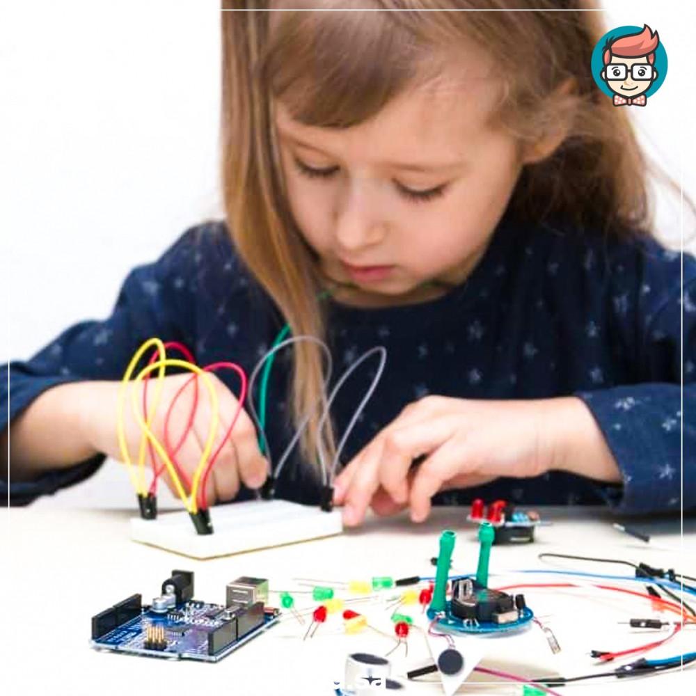 دورة تصميم و برمجة الالكترونيات عبر اردوينو للأطفال