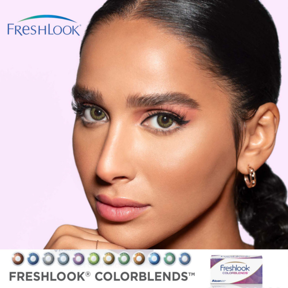 freshlook colorblends colored contact lenses
