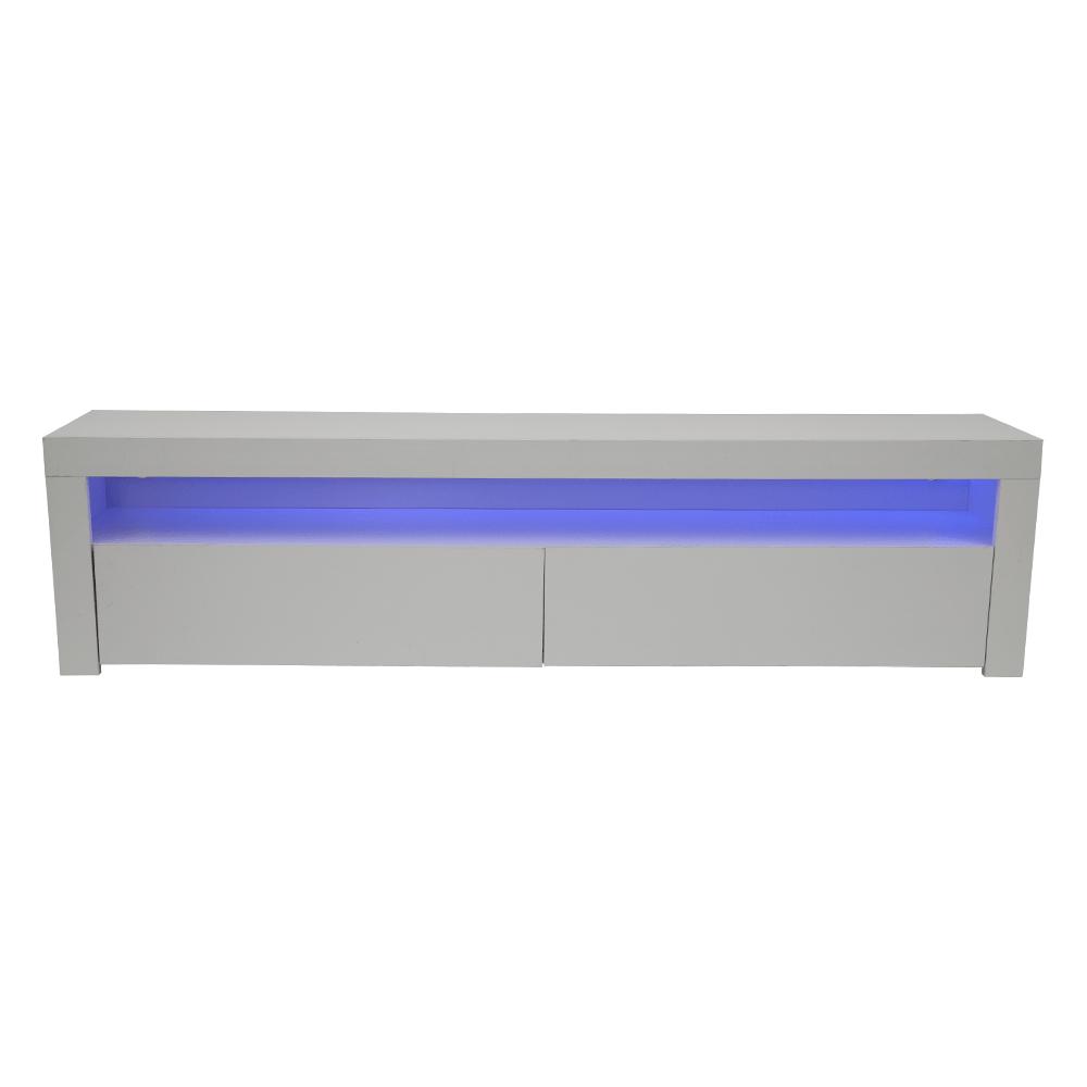 مواسم لديه طاولة تلفاز NEAT HOME بإضاءة مخفية فخمة وجميلة ومتناسقة