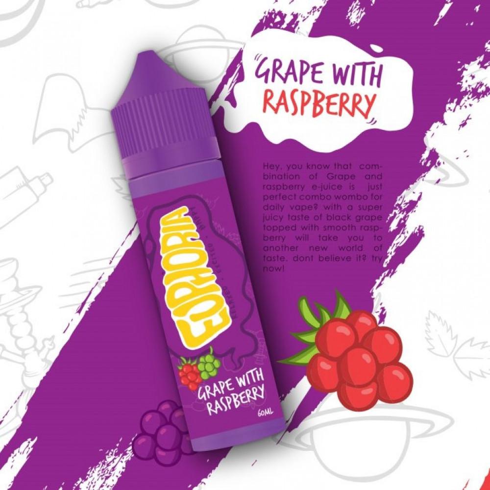 نكهة ايفوريا عنب توت  -Euphoria Grape With Raspberry - 60ML