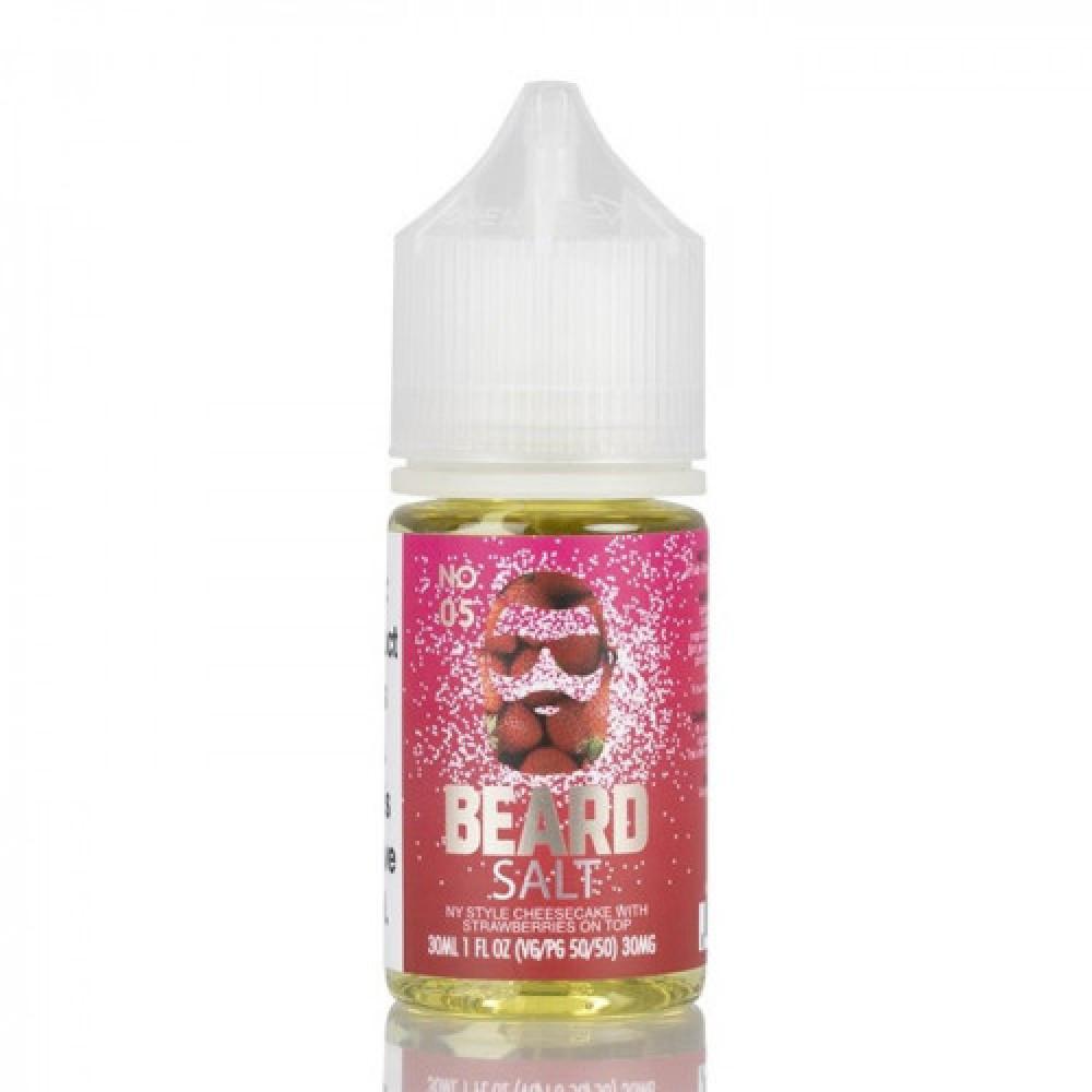 نكهة بيرد 05 سولت نيكوتين - No 05 BEARD VAPE CO - Salt Nicotine - فيب