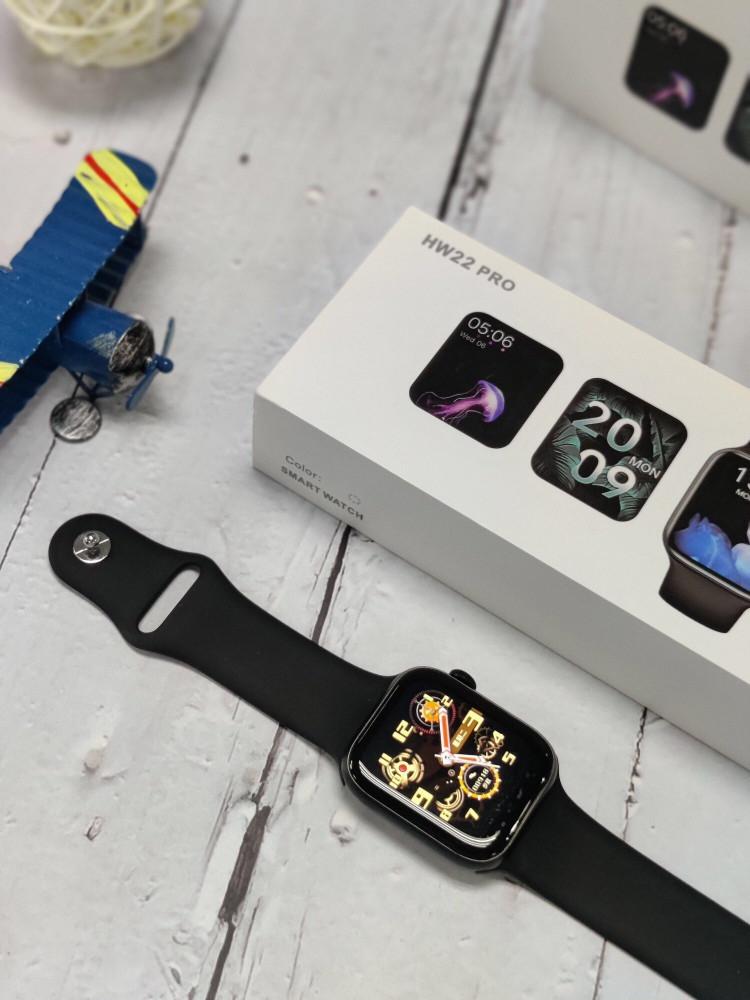 ساعة شبيه ساعة ابل اصدار مطور برو hw22 pro h الاصدار السادس مقاس 44