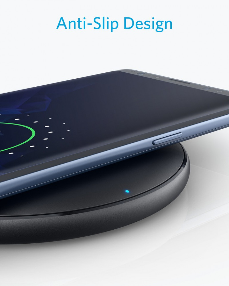 PowerWave Pad Anker Wireless Charger, PowerWave Pad, Compatible iPhone