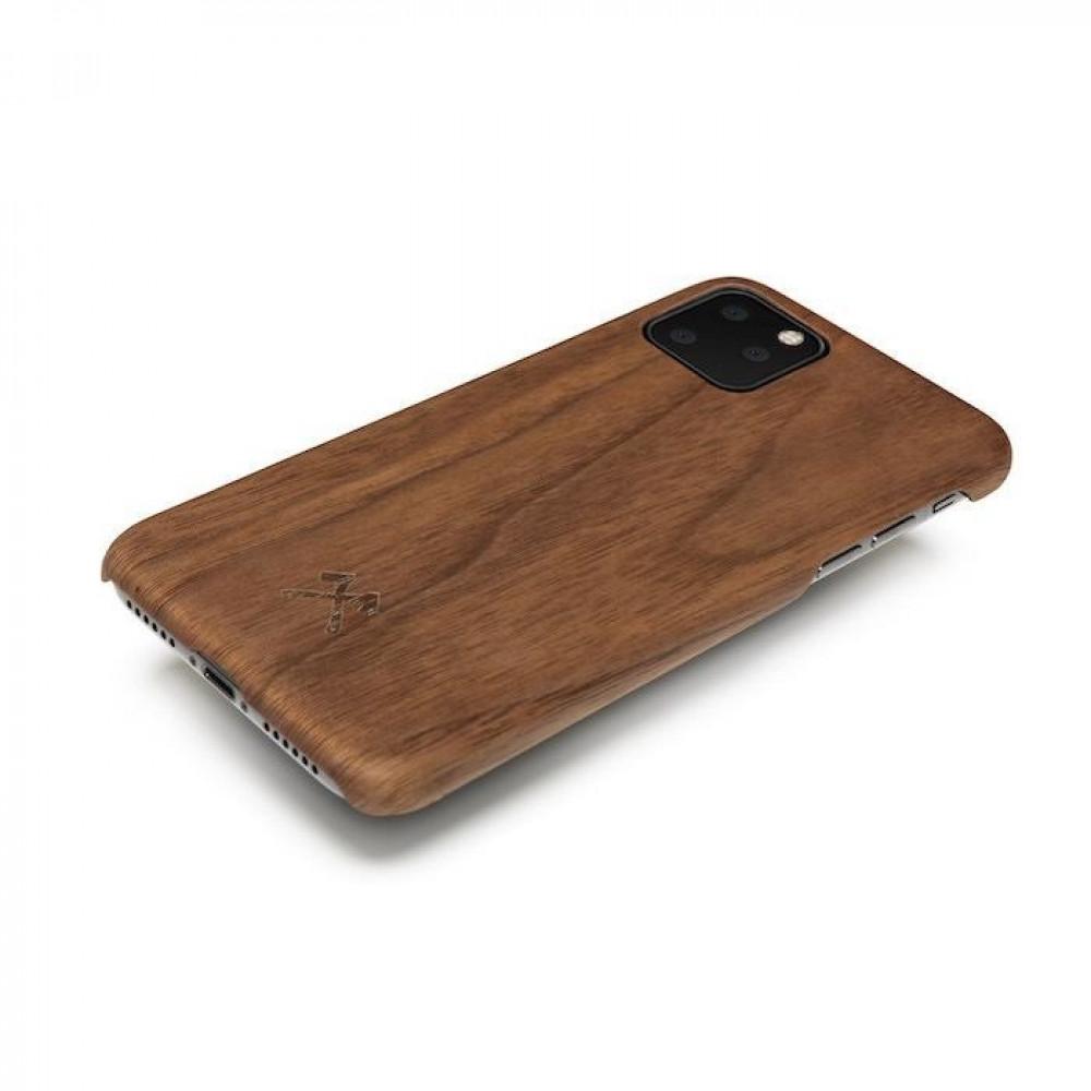 كفر وحافظة ايفون 11 برو ماكس من الخشب