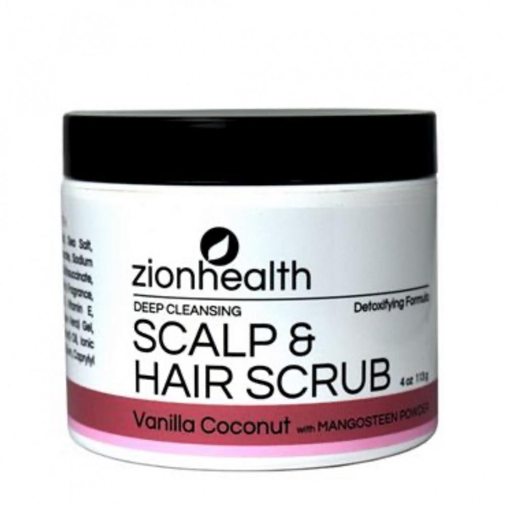 مقشر فروة الرأس من زيون هيلث zion health scalp and hair scrub