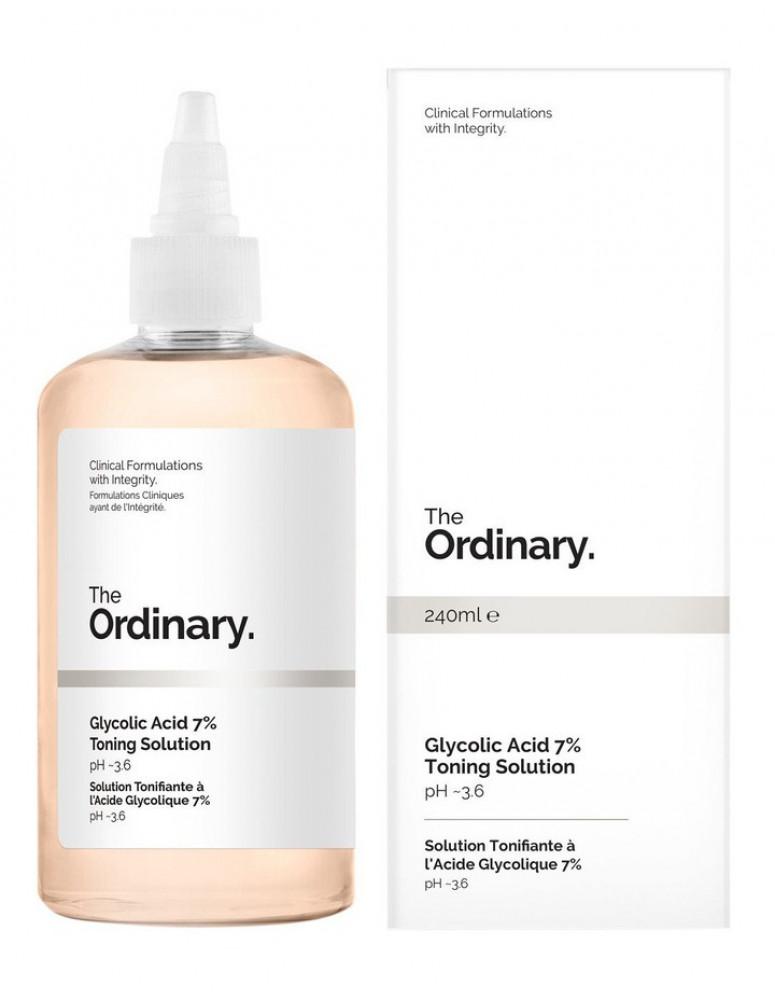 The Ordinary ذا اورديناري تونر حمض الجليكوليك Glycolic Acid  Toning