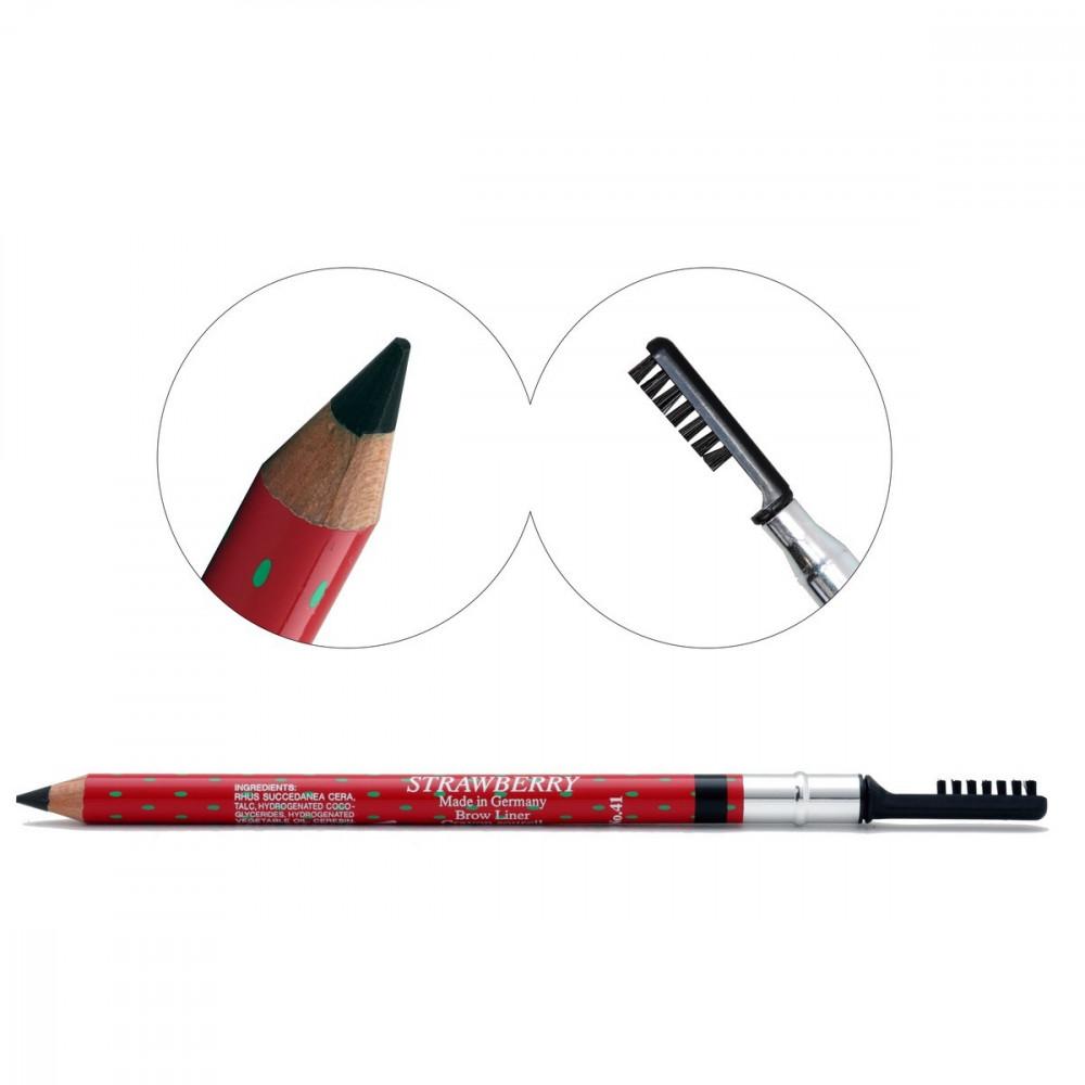 Strawberry Eyebrow Pencil black Germany
