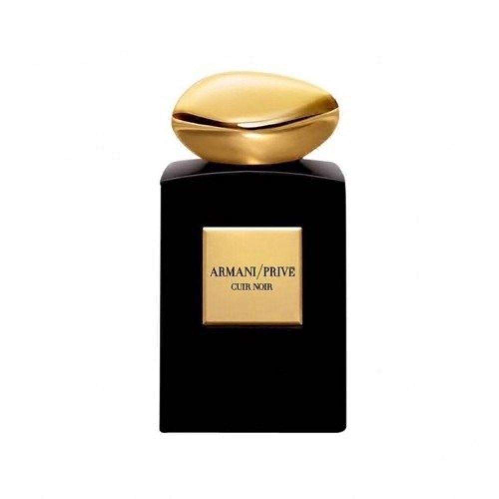 Tester Armani Prive Cuir  Noir Eau de Parfum Intense 100ml خبير العطور