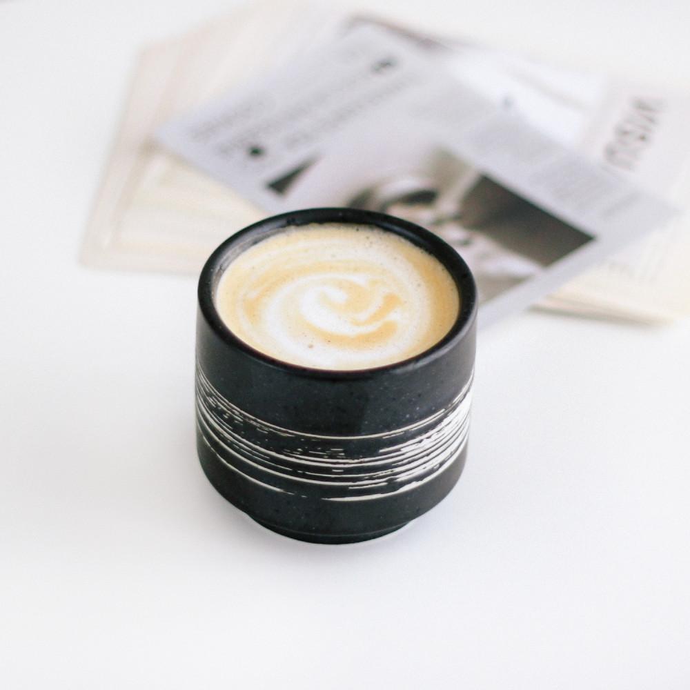 كوب قهوة حكوب قهوة حجري كوب لاتيه كوب هدية كوب خزف كوب اسبريسو كوب شاي