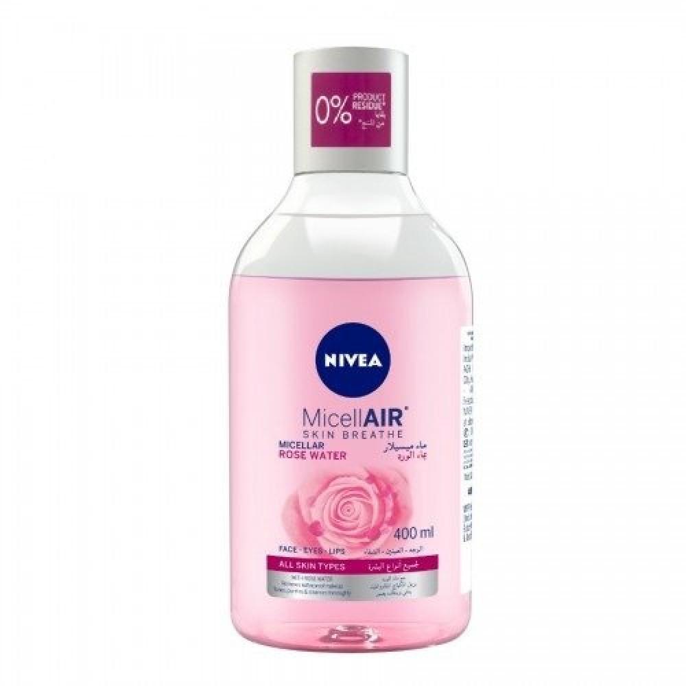 Nivea Micellair Skin Micellar Rose Water Face , Eyes ,Lips 400ml خبير