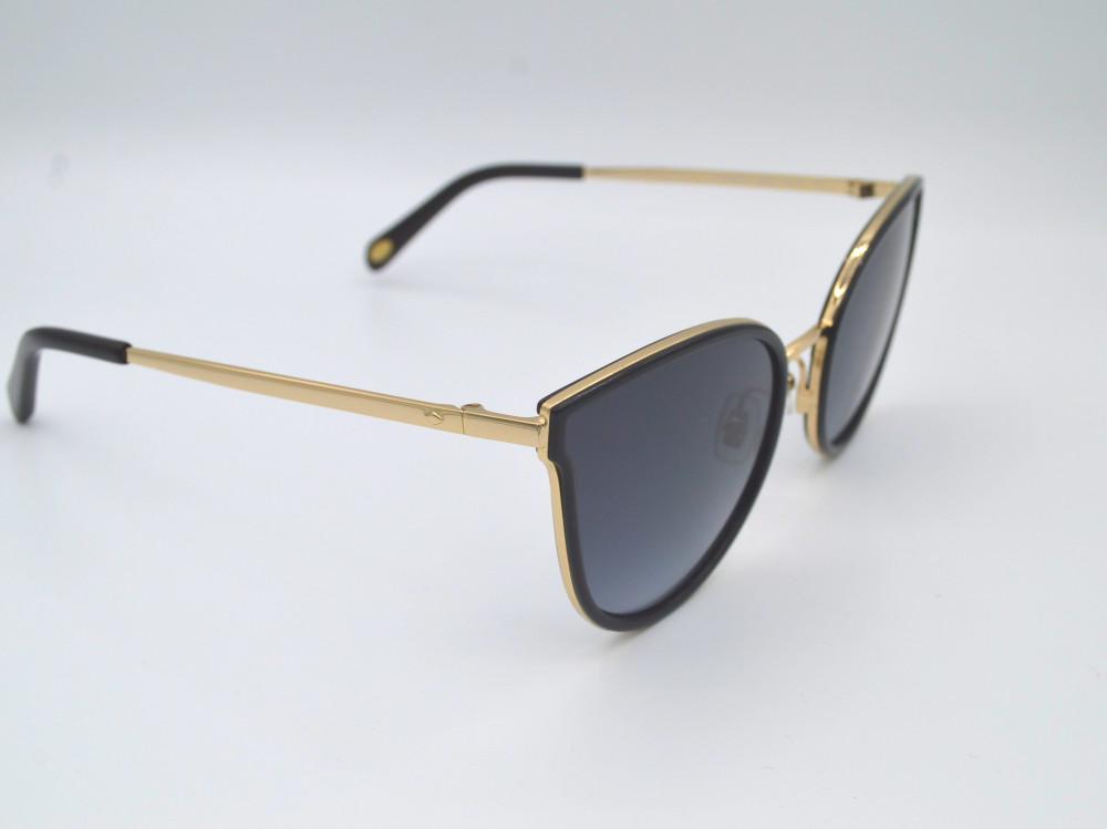 فوسيل FOSSIL نظارة شمسية نسائية لون العدسة اسود مدرج