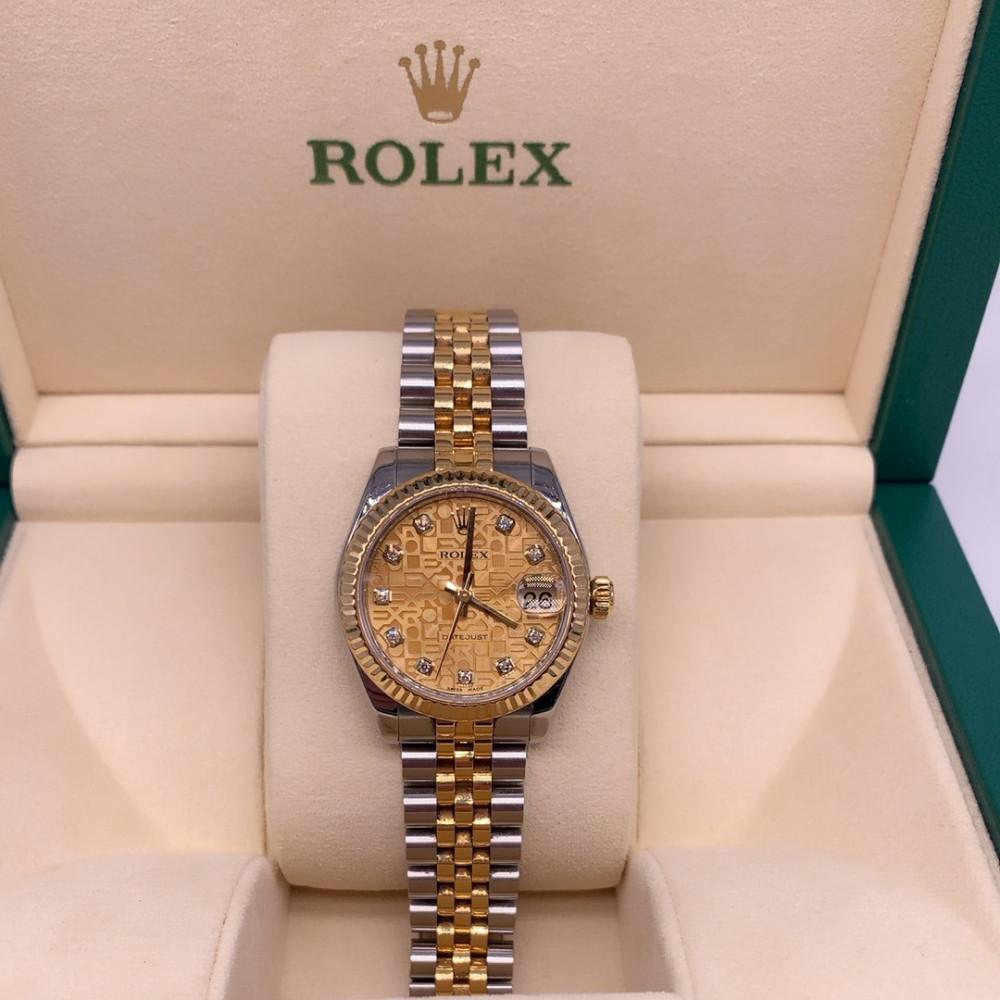 ساعة رولكس نسائية أصلية مستعملة