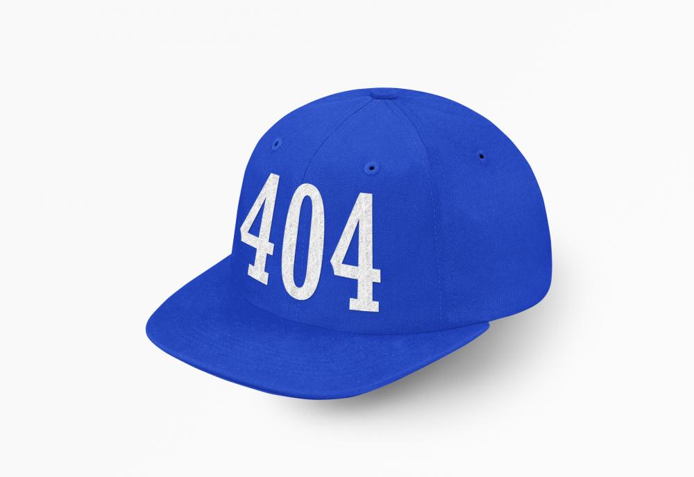 كاب الرشايده 404 ازرق