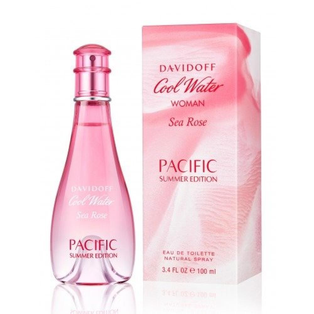 Davidoff Cool Water Sea Rose Pacific Summer Edition for Women de Toile