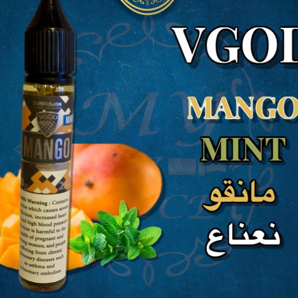 نكهه فيقود مانجو سولت نيكوتين VGOD Mango MINT Salt