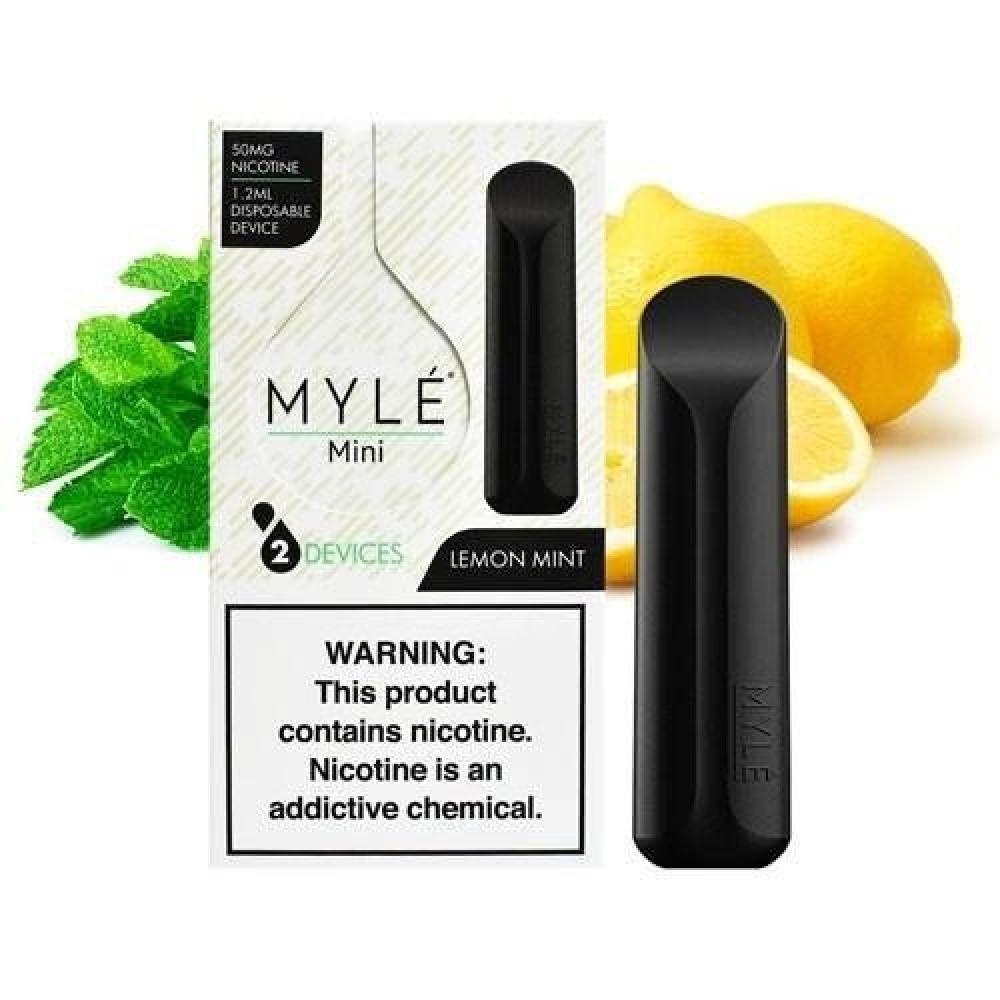 مايلي ميني بنكهة ليمون نعناع - MYLE Mini Lemonade Mint
