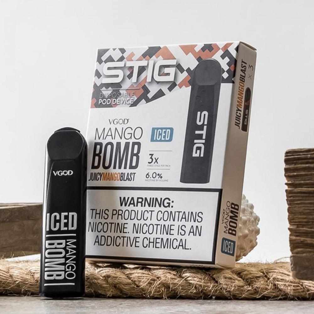 STIG BOMB MANGO Ice SaltNic
