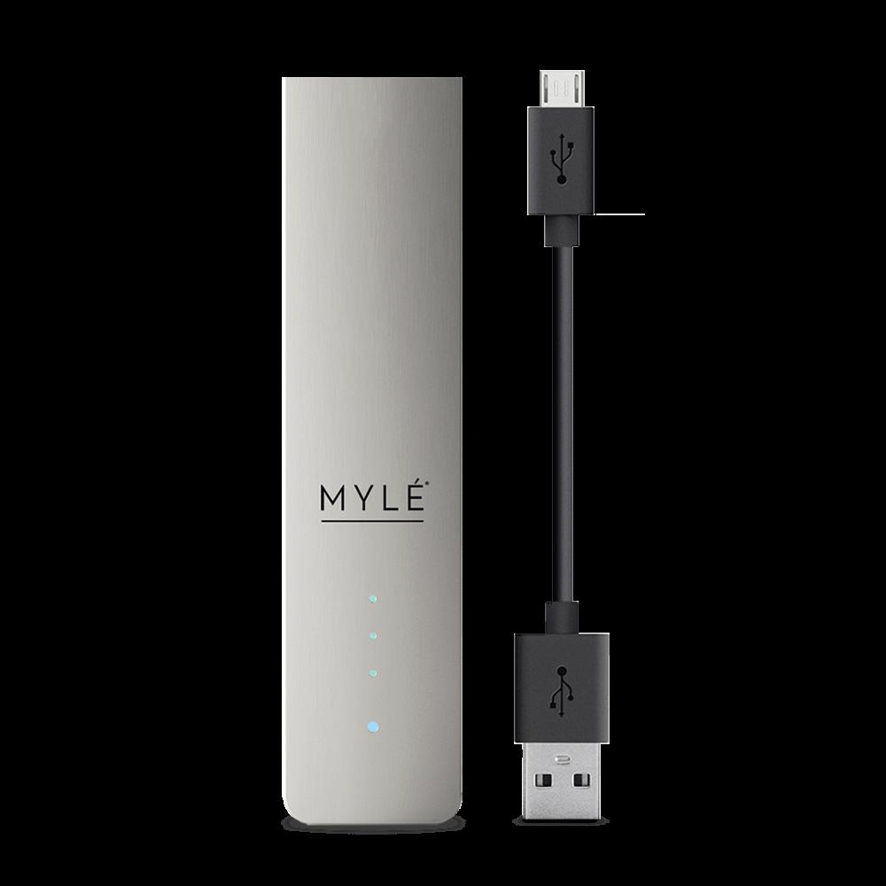 سحبة سيجارة مايلي رمادي ماجناتيك الاصدار الرابع  MYLE Magnetic 4 Kit